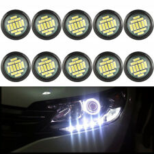 10pcs 12LED Car LED Eagle Eye Lights 15W 12V white Motor DRL Backup Lights bulbs
