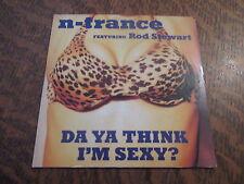 cd N-TRANCE featuring ROD STEWART da ya think i'm sexy ?