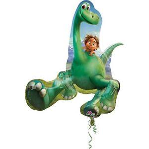 "Disney The Good Dinosaur Birthday Jumbo 34"" inch SuperShape Foil Mylar Balloon"