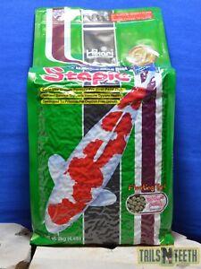 Hikari Staple Koi - Floating MEDIUM Pellet 2kg - Daily Diet for Most Pond Fish