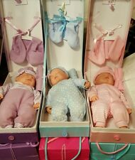 Baby girls doll soft bodied doll in beautifully presented box with accessories