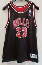 Vintage Champion 90's Michael Jordan Chicago Bulls Reversible Jersey XL 18-20
