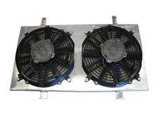 "ISR (ISIS) Radiator Fan Shroud Kit w/ Dual 12"" Fans Silvia 240sx S14 KA24DE KA24"
