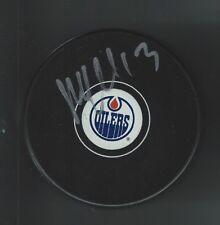 Mike  Cammalleri Signed Edmonton Oilers Puck
