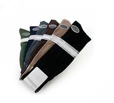 Men's Dress Socks Mercerized Cotton Blend  Black, Navy, Tan, Brown, Olive, Gray