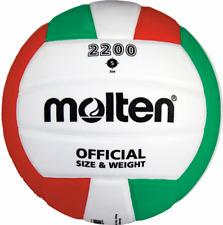 Molten Training Volleyball Größe 5 weiß-grün-rot  NEU Ovp.