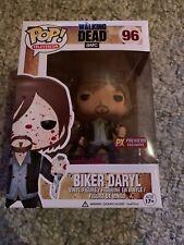 Funko Pop Walking Dead #96 Biker Daryl Dixon BLOODY figure PX Previews Exclusive