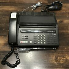 Vintage Canon Fax Machine Faxphone 15 Small Unit Powers On