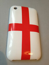 Funda Trasera Plástica Para APPLE iPHONE 3 3GS-Inglaterra George Cruz euro 2016