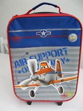 DISNEY PLANES DUSTY CHILDS PULL ALONG SUITCASE HAND LUGGAGE BAG