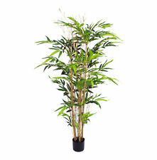 Blooming Artificial 5ft Natural Style Bamboo Tree Plant High Quality Damaged