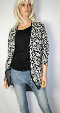 Soulmate Suéter de mujer capa talla L Cárdigan floral NUEVO