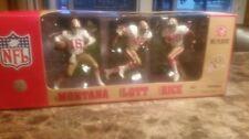 MCFARLANE 49ers 3 Pack White Mcfarlane Figures Montana, Lott, and Rice NIB