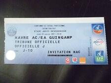 Entradas - 2007 AC Le Havre vs EA Guingamp, 29 de enero, campeonato de fútbol