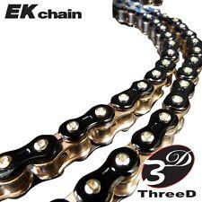 EK 3D 520Z Black/Gold SX2-O-ring Chain 120 Links Brand new Supersport chain
