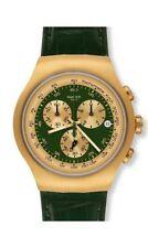 Relojes de pulsera Swatch cuero cronógrafo