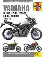 YAMAHA MT-09, FZ-09 TRACER, FJ-09 & XSR900 SERVICE AND REPAIR MANUAL - COOMBS, M