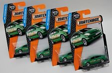 TOYOTA PRIUS TAXI * LOT OF 4 * 2016 MATCHBOX * GREEN HYBRID ELECTRIC CAB