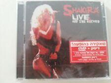 SHAKIRA LIVE OFF THE RECORD CD + DVD ISRAELI CD  HEBREW PROMO