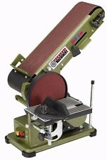 Belt Disc 3/4 HP 4 x 36 Grinder Miter Bevel Workshop Combination Sander