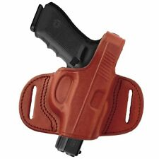 Tagua BH1M-043 Mini Thumb Break Belt Holster, Ruger SP101, Brown, Left Hand