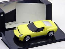 Lamborghini Miura Concept Baujahr 2007 gelb 1:43 HotWheels Elite