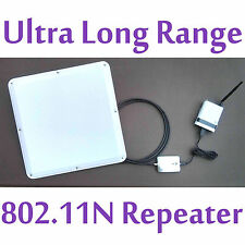 48dBm Long Range WIFI Repeater Antenna Extender Router 802.11N For Phone/Tablet