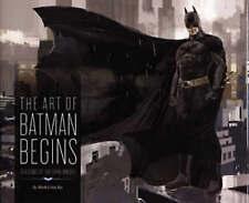 The Art of Batman Begins, Very Good Condition Book, Vaz, Mark Cotta, ISBN 978184