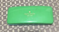 Kate Spade New York Sunglass Eyeglasses Hard Case Clamshell Blue Green # 193