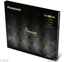 New! Panasonic Premium BD-R DL 50GB 6x Speed Bluray Disc 50 Years Archival Grade