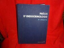 LINQUETTE - Précis d'endocrinologie. Paris, Masson & Cie,