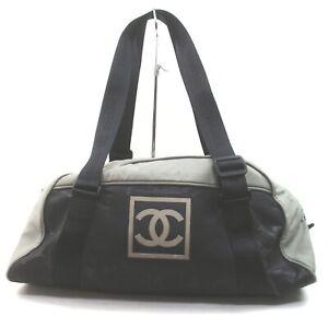 Chanel Boston Bag Chanel Sports Black Nylon 1901590