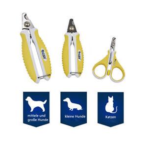 KUDI Hunde und Katzen Krallenzange, Krallenschere Nagelschere, S & M & L