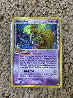 Pokemon - Ninetales Delta Species 8/101 Reverse Holo Rare Card Dragon Frontiers