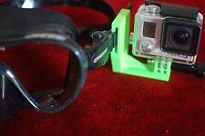 Gopro Camera Mount For Diving Scuba Goggles / Ski Goggles
