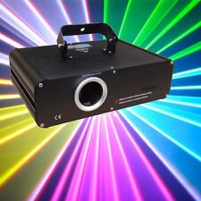 1000mW 1W FULL COLOR RGB ILDA DMX DJ Stage Laser Light Disco