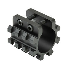 Tactical TriRail Picatinny Mount For Mag Tubes Fits 12 Gauge Maverick 88 Shotgun