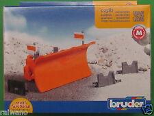 Bruder 02582 Zubehör Straßenräumschild Blitzversand per DHL-Paket