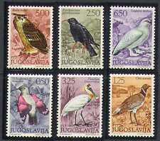 Yugoslavia 1972 Birds/Eagle Owl/Raptor/Nature/Wildlife 6v set (n21608)
