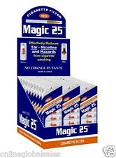 30 Packs Magic25 Cigarette Filters (Total 300 Filters) Filter out Nic, Free Ship