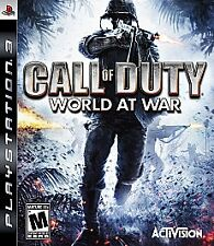 Call of Duty: World at War Sony PlayStation 3 WITH CASE PS3