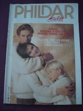 Spécial Machine à Tricoter PHILDAR N°190 - HOMME-FEMME-ENFANTS
