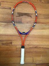 """Slazenger Smash 25 - Junior Kids 25"""" Tennis Racket Racquet - Orange/Blue/White"""