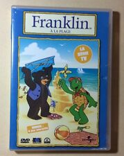 DVD Dessins Animés Franklin A La Plage