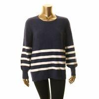 MICHAEL KORS NEW Women's Striped Wool Blend Sweater Top TEDO