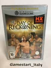 DAY OF RECKONING WWE - NINTENDO GAMECUBE - NUOVO SIGILLATO NEW SEALED PAL