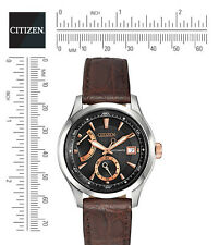 Citizen NB3016-05E Signature Grand Classic Men's Strap Black Dial NEW In Box