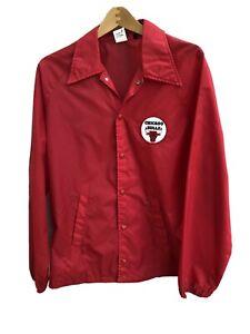 Vintage Chicago Bulls Pro Player Windbreaker Jacket * Large - Made In USA