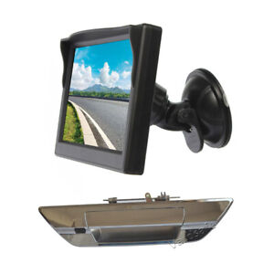 Reverse Camera & Rear View Monitor for Toyota Hilux AN120 AN130 (2015-Current)