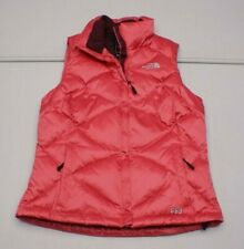 The North Face Womens XS Pink Nylon Outdoor Insulated Winter Puffer Vest